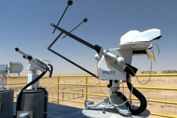 estación de medición solar