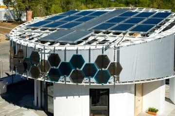panel solar híbrido