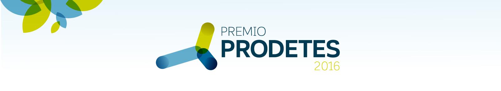 PREMIO PRODETES