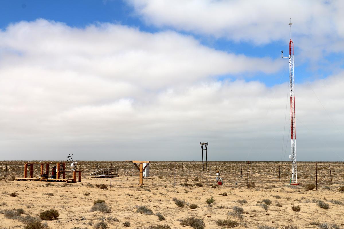 Guerrero Negro Estación de medición solar