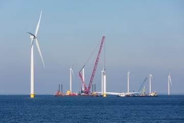 energía eólica offshore