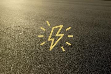pavimento en electricidad