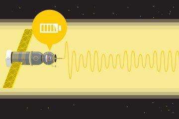 transmisión de energía solar espacial