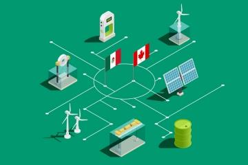 Canadá y México energías renovables